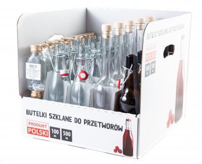 Studium przypadku - Dostarczenie 4600 palet słoików i butelek pakowanych POS ready.