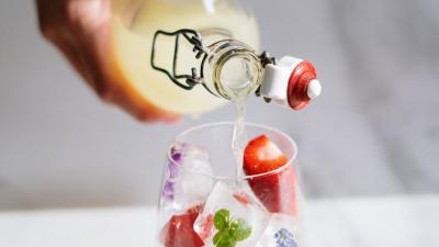Butelki szklane do wody